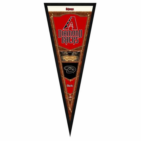 Arizona Diamondbacks Framed Pennant Sign