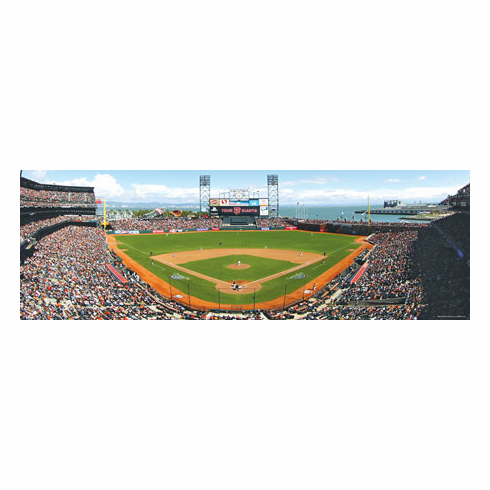 AT&T Park San Francisco Giants 1000pc Panoramic Puzzle