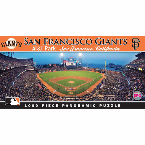 AT&T Park San Francisco Giants 1000pc Panoramic Puzzle<br>ONLY 4 LEFT!