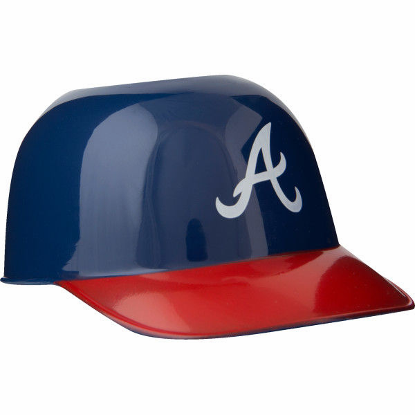 Atlanta Braves 8oz Ice Cream Sundae Baseball Helmet Snack Bowls