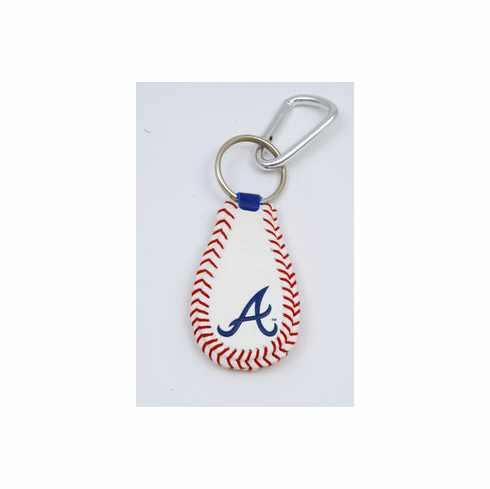 Atlanta Braves<br>Baseball Seam Keychain