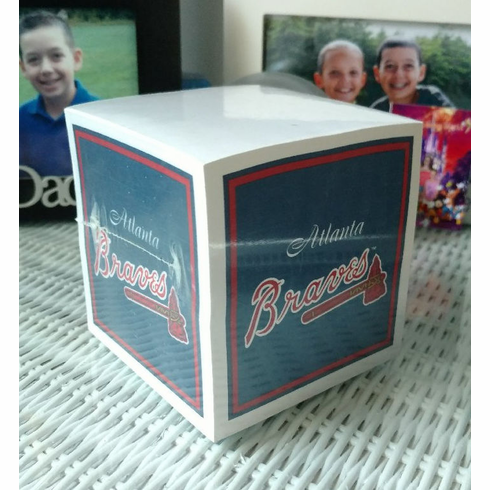 Atlanta Braves Paper Note Cube<br>ONLY 2 LEFT!