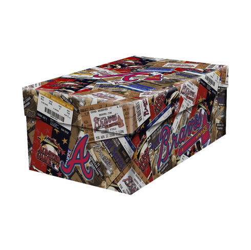 Atlanta Braves Souvenir Ticket Photo Box<br>ONLY 5 LEFT!