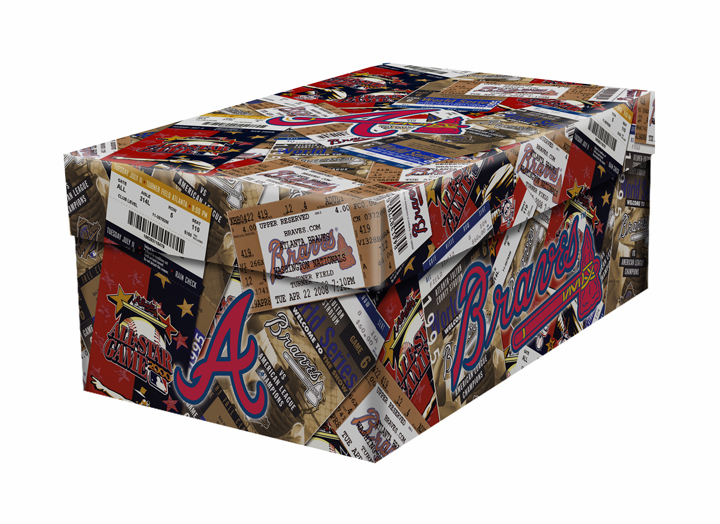Atlanta Braves Souvenir Ticket Photo Box<br>ONLY 4 LEFT!