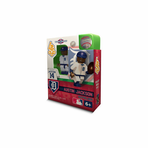 Austin Jackson Detroit Tigers 2012 World Series OYO Mini Figure