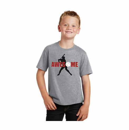 Awesome Baseball T-Shirt<br>Choose Your Color<br>Youth Med to Adult 4X