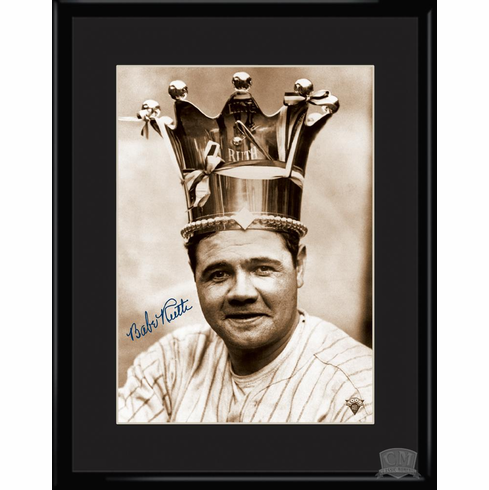 Babe Ruth - King of Baseball 11x14 Lithograph