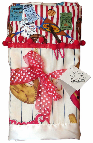 Baseball Two Piece Baby Blanket<br>ONLY 1 LEFT!