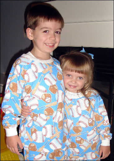 Ball Game<br>Flame Resistant<br>Children's 12mo Baseball Pajamas<br>ONLY 2 LEFT!