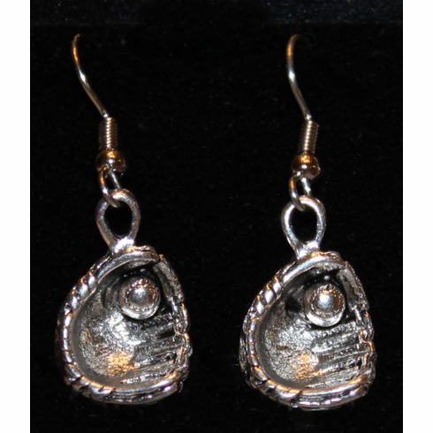 Ball in Glove Earrings