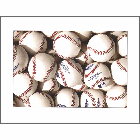 Balls of Summer<br>Baseball Art<br>Box of Notecards