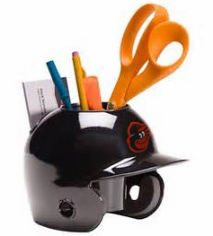 Baltimore Orioles Baseball Helmet Desk Caddy<br>ONLY 6 LEFT!