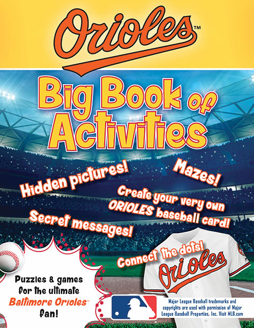Baltimore Orioles: The Big Book of Activities<br>ONLY 2 LEFT!
