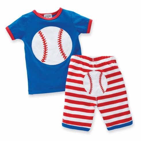 Baseball 2pc Baby Outfit