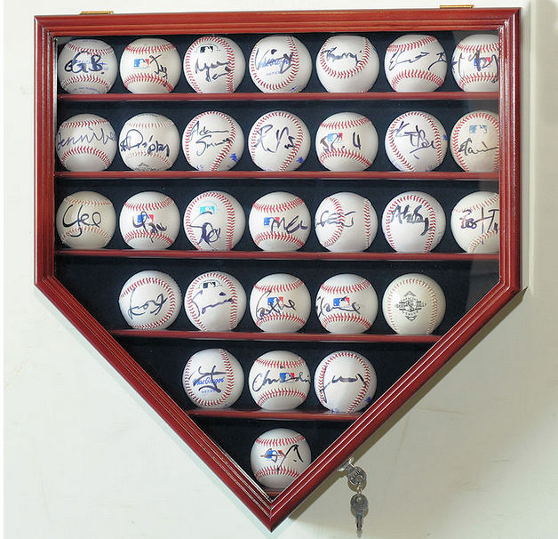 Baseball & Bat Display Cases