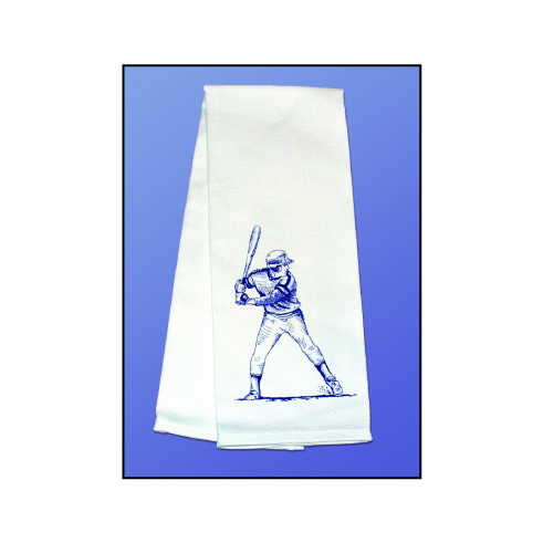 Baseball Batter Kitchen Towel