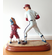Baseball Boy and Coach Figurine<br>Retired Design by Character Collectibles<br>ONLY 1 LEFT!