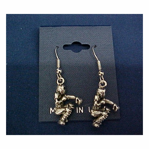 Baseball Catcher Earrings