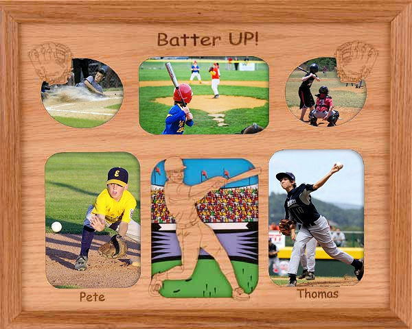 Baseball Photo Frames Albums and Journals