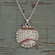 Baseball Crystal Stone Necklace