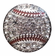 Baseball Crystal Stone Toggle Bracelet