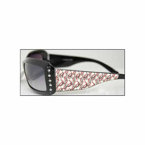 Baseball Crystal Sunglasses