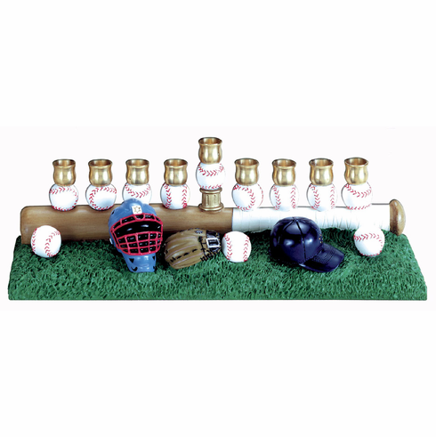 Baseball Equipment<br>Menorah
