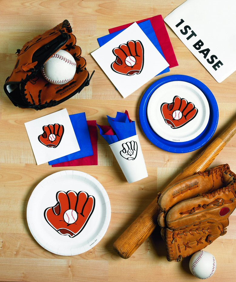 Baseball Glove Party Supplies