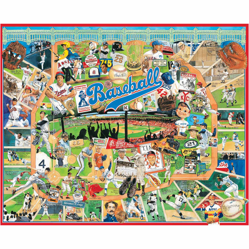 Baseball Greats 1000pc Puzzle<br>ONLY 3 LEFT!