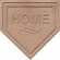 Baseball Home Plate Shaped Welcome Mat<br>SOLD OUT!