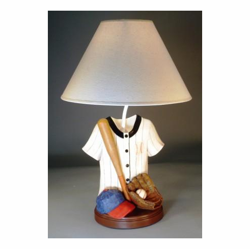 Baseball Jersey Lamp<br>ONLY 1 LEFT!
