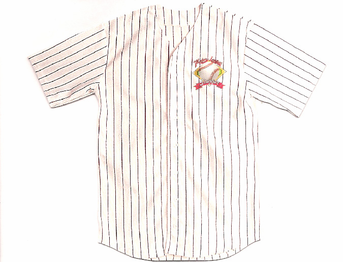 Baseball Jersey Notecards