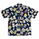 Baseball Legends Men's Hawaiian Style Navy Blue Camp Shirt<br>ADULT L or XL