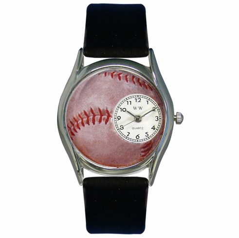 Baseball Lover Classic Silver Watch