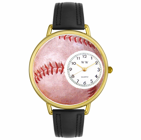 Baseball Lover Gold Watch<br>ONLY 2 LEFT!