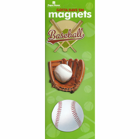 Baseball Magnet Set<br>LESS THAN 5 LEFT!