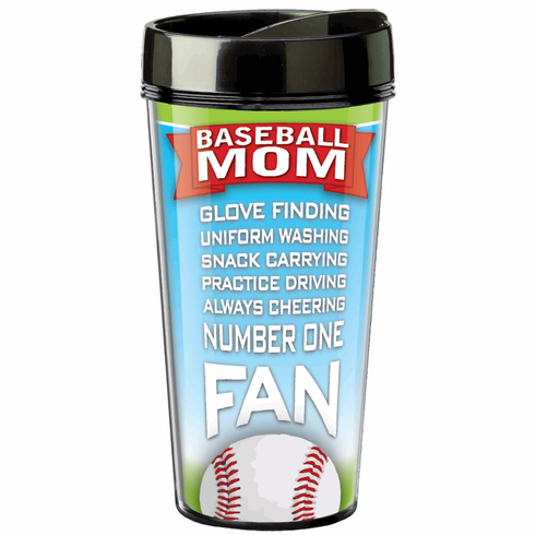 Baseball Mom 16oz Insulated Tumbler