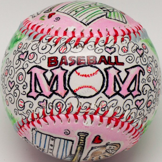 Baseball Mom Baseball<br>LESS THAN 4 LEFT!