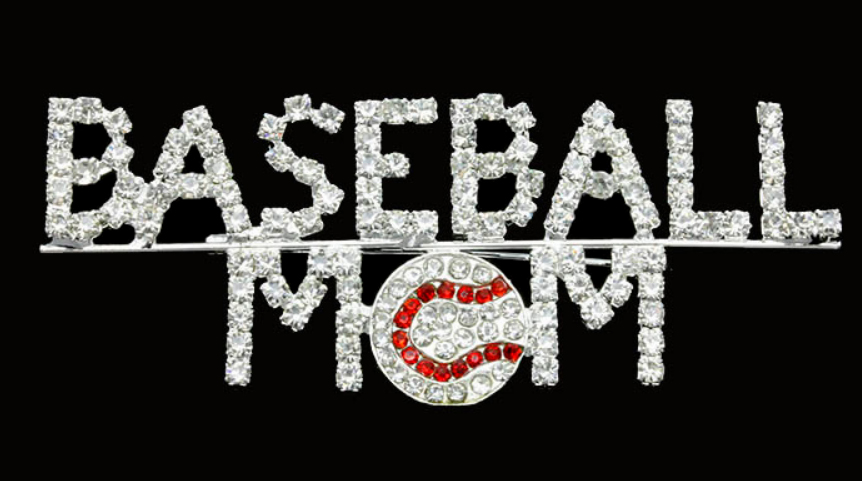 Baseball Mom Brooch Pin<br>ONLY 5 LEFT!