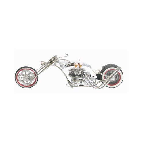 Baseball Motorcycle Figurine<br>ONLY 1 LEFT!