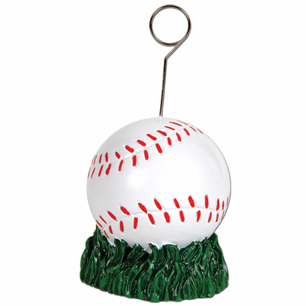 Baseball Photo / Balloon Holder