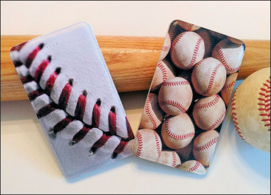 Baseball Power Bank Portable Smart Phone Chargers