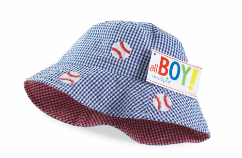 Baseball Reversible Bucket Hat 0-12mo