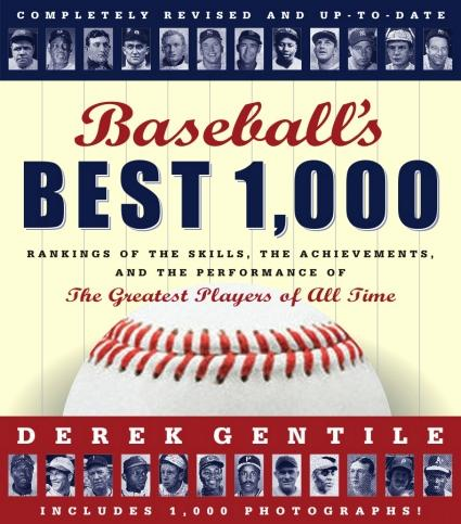 Baseball's Best 1,000 by Derek Gentile<br>ONLY 2 LEFT!