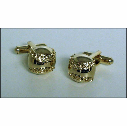 Baseball Shaped Cufflinks