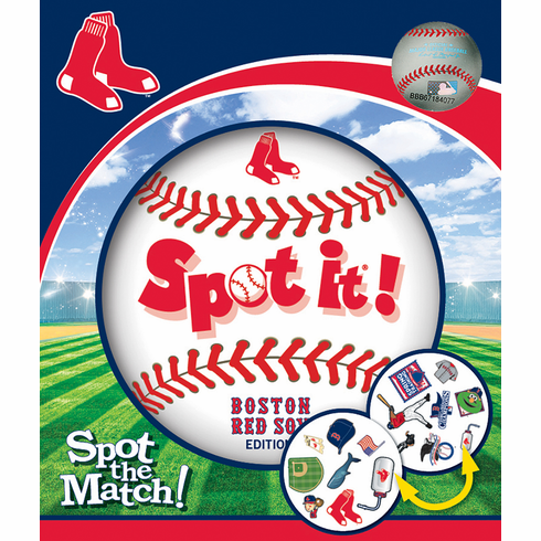 Baseball Spot it! Boston Red Sox Edition<br>LESS THAN 6 LEFT!
