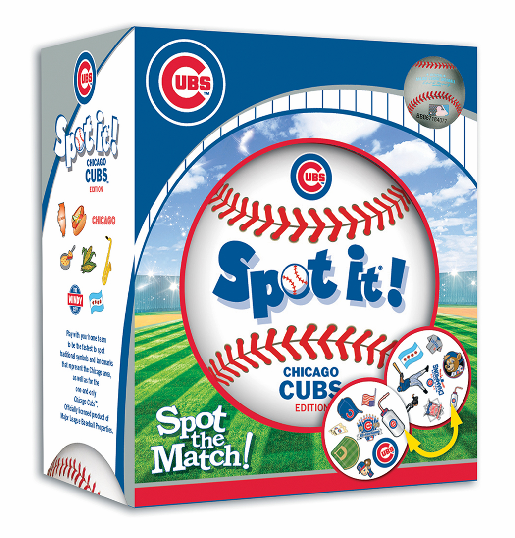 Baseball Spot it! Chicago Cubs Edition