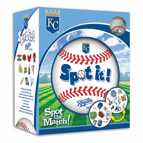Baseball Spot it! Kansas City Royals Edition<br>ONLY 3 LEFT!