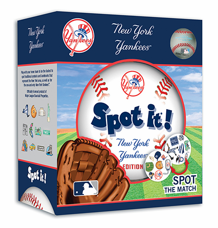 Baseball Spot it! New York Yankees Edition<br>LESS THAN 6 LEFT!