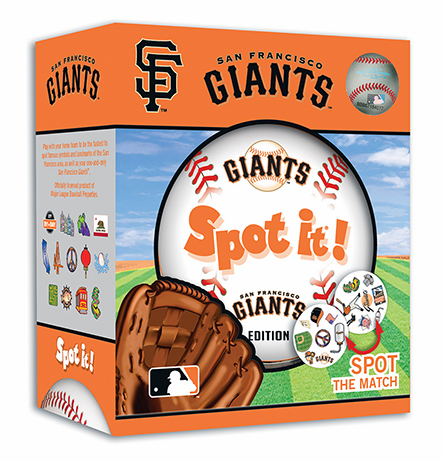 Baseball Spot it! San Francisco Giants Edition<br>ONLY 2 LEFT!